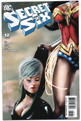 Secret Six 12 3rd Series DC 2009 NM Daniel LuVisi Wonder Woman Bane