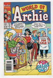 World Of Archie 6 1993 VF Pops Riverdale Betty Veronica Mini Skirt Newsstand