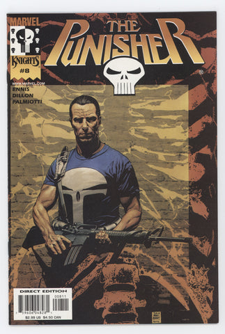 Punisher 8 5th Series Marvel Knights 2000 NM Garth Ennis Tim Bradstreet