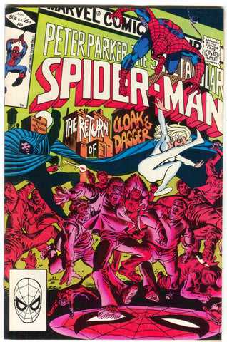 Spectacular Spider-Man 69 Marvel 1982 VF 2nd Cloak Dagger Kingpin Silvermane