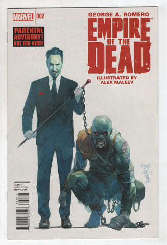 Empire Of The Dead 2 A Marvel 2014 NM George Romero Alex Maleev Zombies