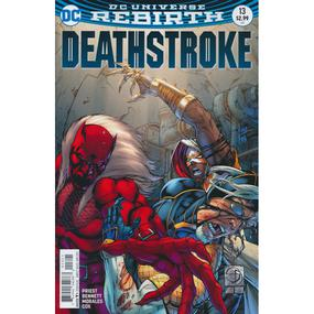 Deathstroke 13 Cover B DC Rebirth 2016