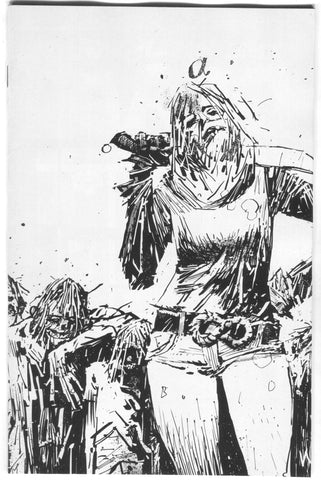 Walking Dead 132 Image 2018 15th Anniversary Ashley Wood BW Virgin Variant Blind Bag