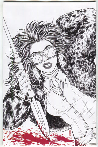 Walking Dead 171 Image 2018 15th Anniversary Jen Bartel BW Virgin Variant Blind Bag