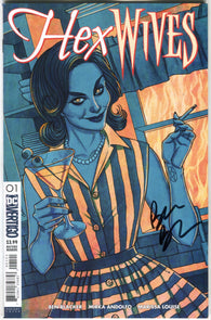HEX WIVES #1 B DC Jenny Frison Variant Signed Ben Blacker (MR) (10/31/2018)