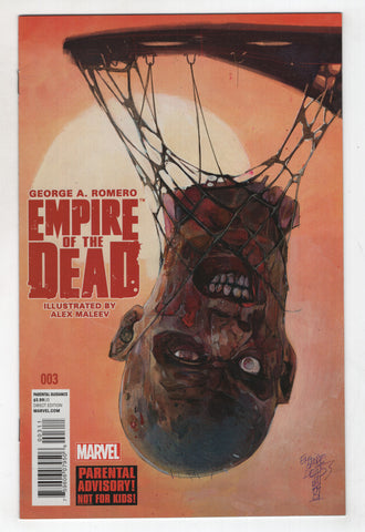 Empire Of The Dead 3 A Marvel 2014 NM George Romero Alex Maleev Zombies