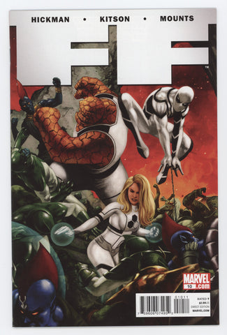 FF #10 Marvel 2011 Steve Epting Jonathan Hickman Fantastic Four