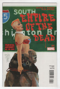Empire Of The Dead 4 A Marvel 2014 NM George Romero Alex Maleev Zombies