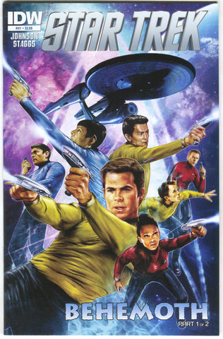 Star Trek 41 A IDW 2015 NM Cat Staggs