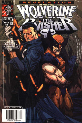 Wolverine Punisher Revelation 2 Marvel 1999