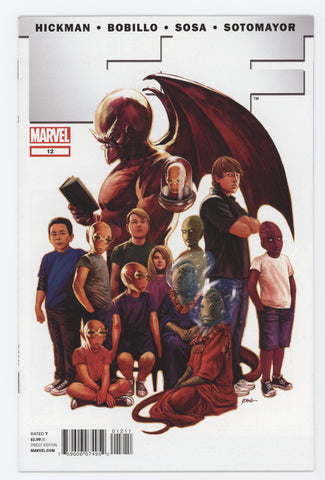 FF #12 A Marvel 2012 Steve Epting Jonathan Hickman Fantastic Four