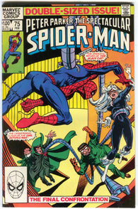 Spectacular Spider-Man 75 Marvel 1983 FN VF Owl Dr. Octopus Black Cat