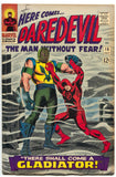 Daredevil 18 1st Series Marvel 1966 FN Stan Lee John Romita 1st Gladiator