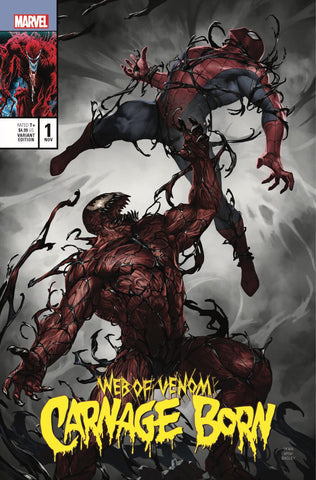 Web Of Venom Carnage Born 1 Skan Srisuwan Amazing Spider-Man 361 Homage Variant Signed (11/21/2018)