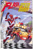 Flash Speed Buggy 1 A DC 2018 NM Brett Booth Superman Batman Jabberjaw