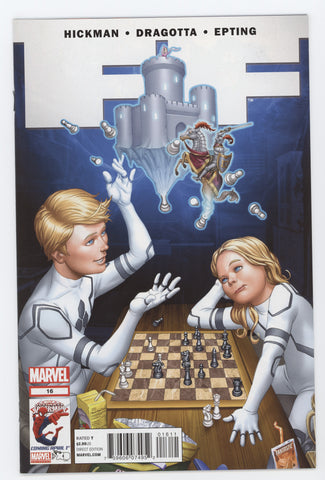 FF #16 Marvel 2012 Mike Choi Jonathan Hickman Fantastic Four