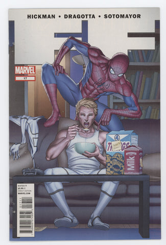 FF #17 A Marvel 2012 Mike Choi Jonathan Hickman Fantastic Four