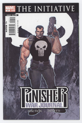 Punisher War Journal 7 A 2nd Series Marvel 2007 NM Ariel Olivetti Variant