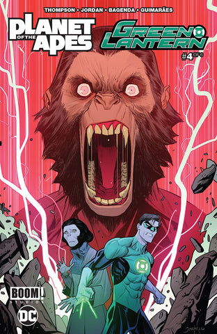 Planet of the Apes Green Lantern 4 DC Boom Studios 2017