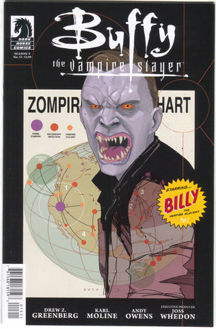Buffy The Vampire Slayer Season 9 15 A Dark Horse 2012 NM Phil Noto