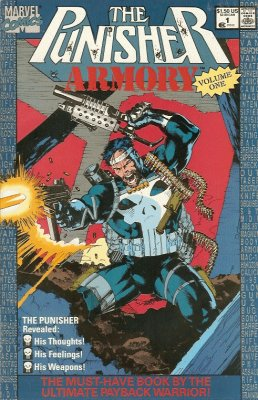 Punisher Armory 1 Marvel 1990