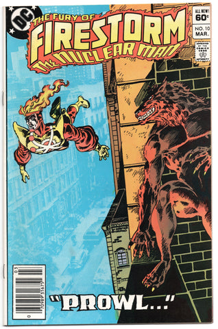 Firestorm Nuclear Man 10 2nd Series DC 1982 VF Hyena Dick Giordano