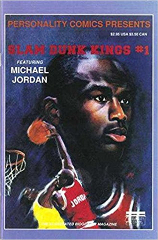 Personality Comics Presents Slam Dunk Kings 1 Michael Jordan 1991