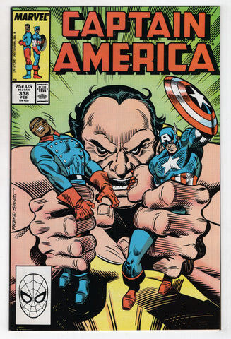 Captain America 338 Marvel 1988 NM Ron Frenz