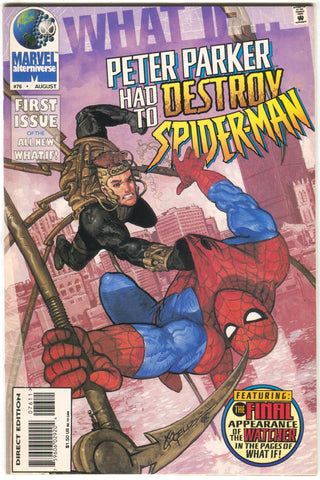 What If 76 2nd Series Marvel 1995 NM Peter Parker Destroy Spider-Man Fantastic Four