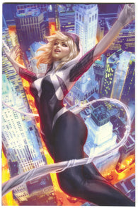 Spider-Gwen Ghost Spider 1 Marvel 2018 NM Adam Hughes Virgin Variant