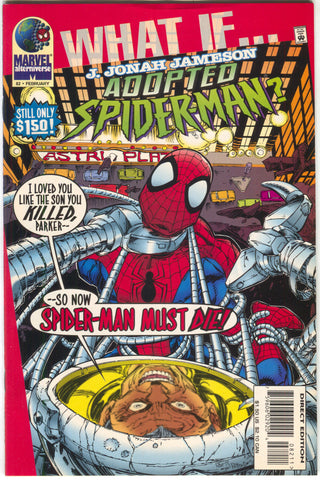 What If 82 2nd Series Marvel 1996 VF J Jonah Jameson Adopted Spider-Man Spider Slayer