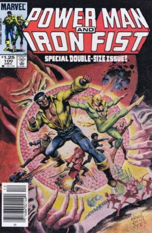 Power Man and Iron Fist 100 Marvel 1983