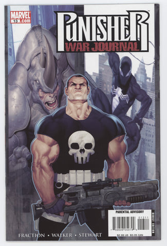Punisher War Journal 13 2nd Series Marvel 2008 NM Ariel Olivetti Matt Fraction