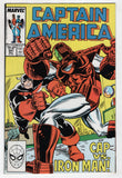 Captain America 341 Marvel 1988 NM- Ron Frenz Iron Man