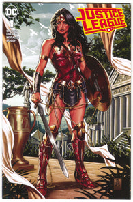 Justice League 1 Marvel 2018 NM Mark Brooks Variant Wonder Woman