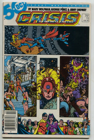Crisis On Infinite Earths 11 DC 1986 FN Marv Wolfman Spectre Superman