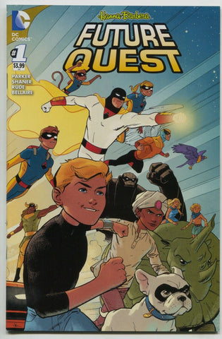 Future Quest 1 A DC 2016 NM Evan Shaner Space Ghost Jonny Quest