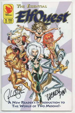 Essential Elfquest 1 Warp 1995 FN VF Signed Wendy Richard Peni