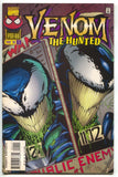 Venom The Hunted 1 Marvel 1996 VF Mugshot Wanted Poster Spider-Man