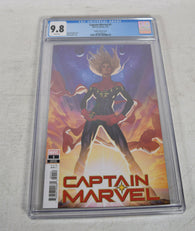 Captain Marvel 1 2019 CGC 9.8 1:25 Adam Hughes Variant