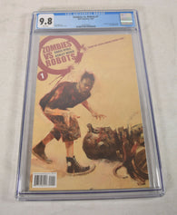 Zombies Vs Robots 1 B IDW 2006 CGC 9.8 Ashley Wood ZVR