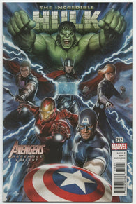 Incredible Hulk 712 Marvel 2019 NM Adi Granov Variant Avengers Thor
