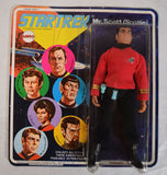 Star Trek Capt Mr. Scott Scottie Action Figure Mego 1974 MOC New