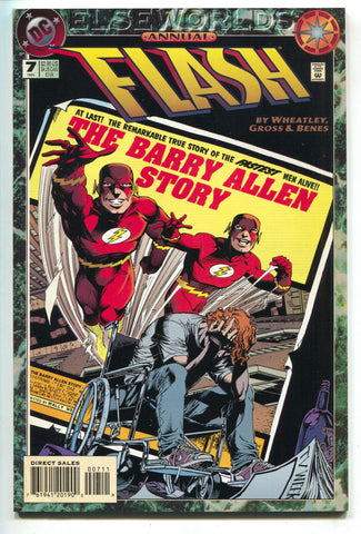 Flash Annual 7 2nd Series DC 1994 NM- Elseworlds Ed Benes Barry Allen