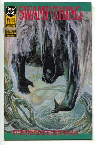 Swamp Thing 65 DC 1987 NM Rick Veitch John Constantine Hellblazer