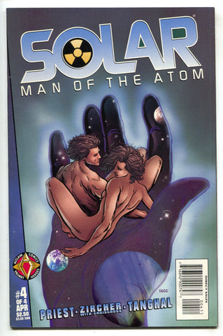 Solar Man Of The Atom Hell On Earth 4 Acclaim 1998 VF Christopher Priest