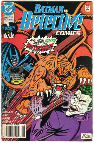 Detective Comics 623 DC 1990 FN Dick Sprang Joker Bathound