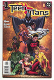 Teen Titans 1 B 3rd Series DC 2003 NM Michael Turner Variant