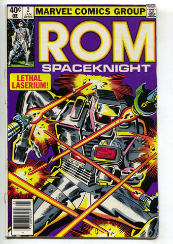 ROM Spaceknight 2 Marvel 1980 VF Bill Mantlo Sal Buscema