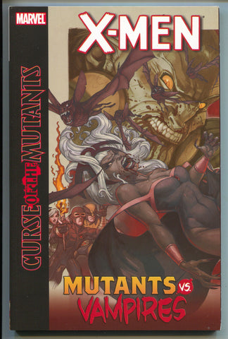 X-Men Curse Of The Mutants Vs Vampires TPB Marvel 2011 NM 1 Smoke Blood Blade